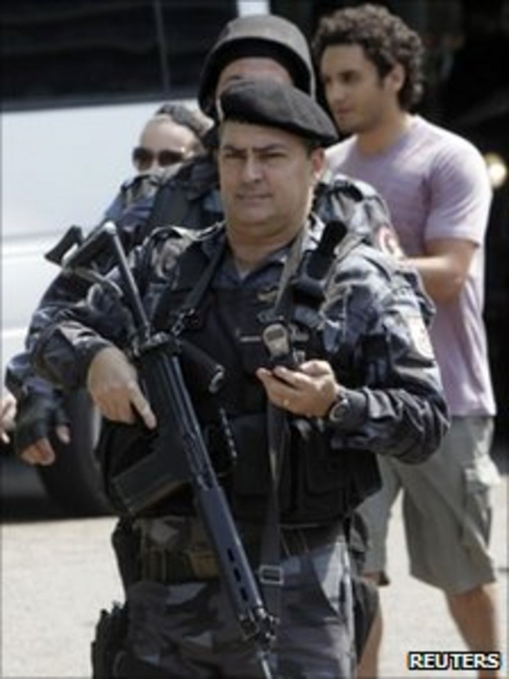 One dead after Brazil shoot-out