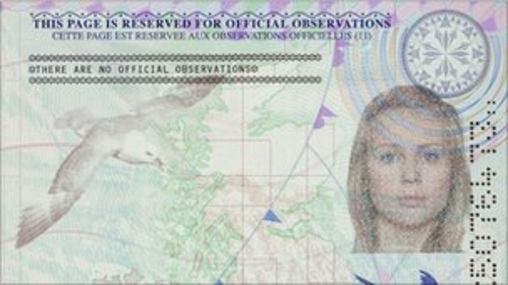 New UK passport design unveiled in fight against fraud ...