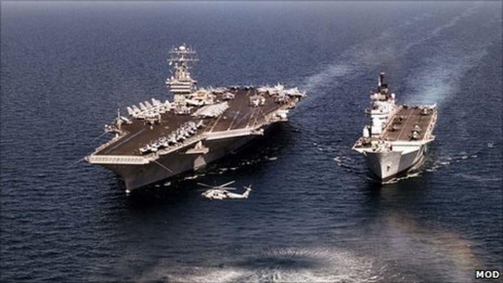 Navy's £5bn aircraft carrier conundrum - BBC News