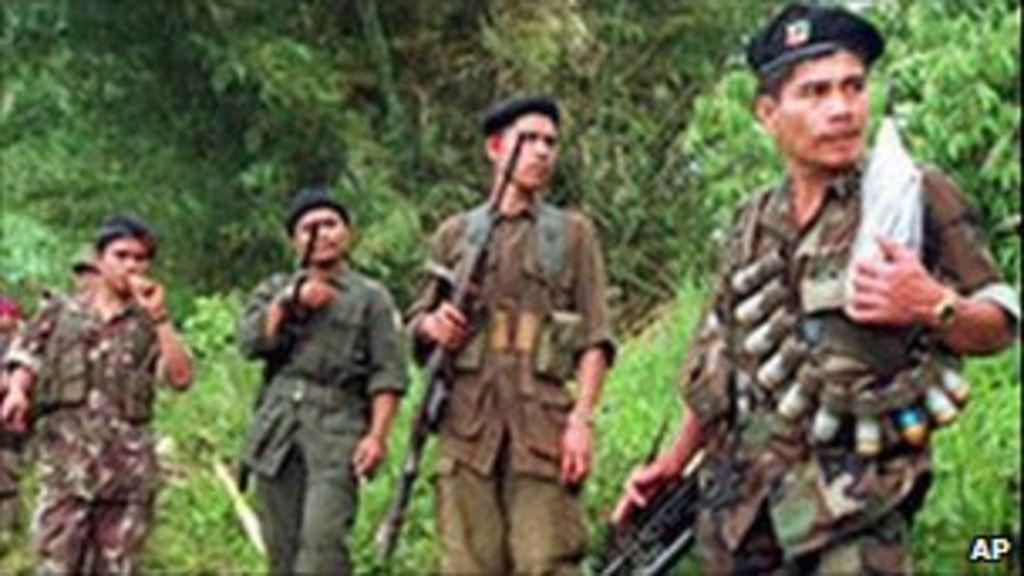 Philippine communists in HK talks