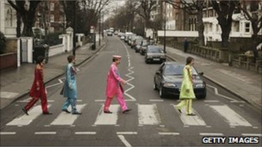 Beatles' Abbey Road zebra crossing given listed status ...