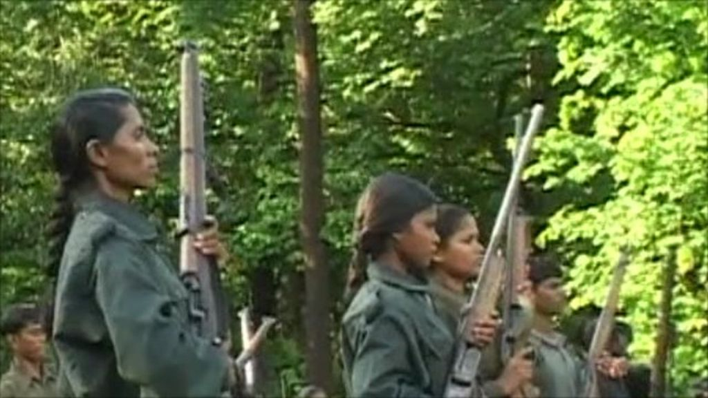 Image result for maoists in forest