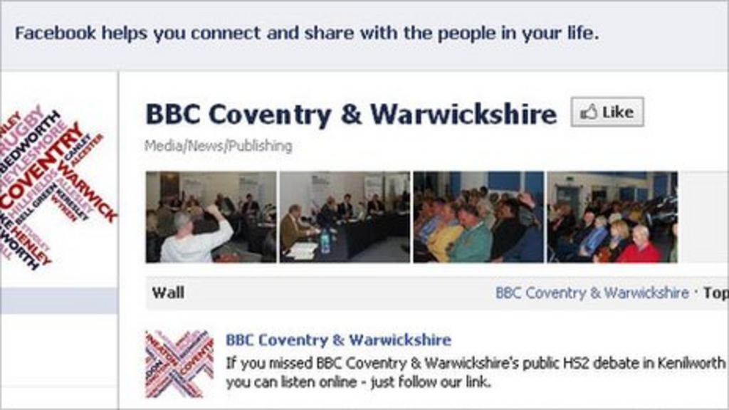 Bbc News Facebook: BBC Coventry & Warwickshire On Twitter And Facebook