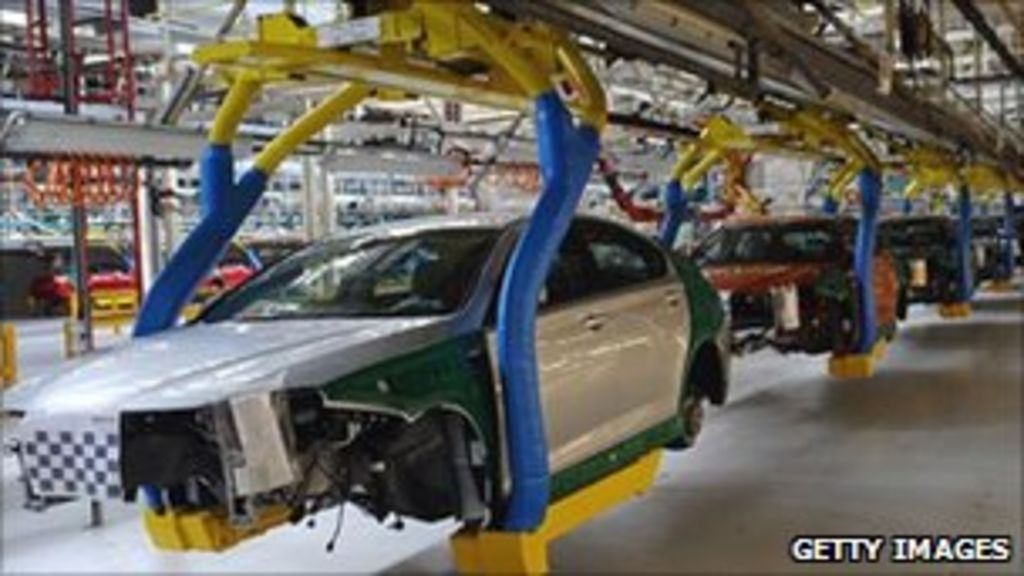 Uk Manufacturing Sector Contracts In July Bbc News