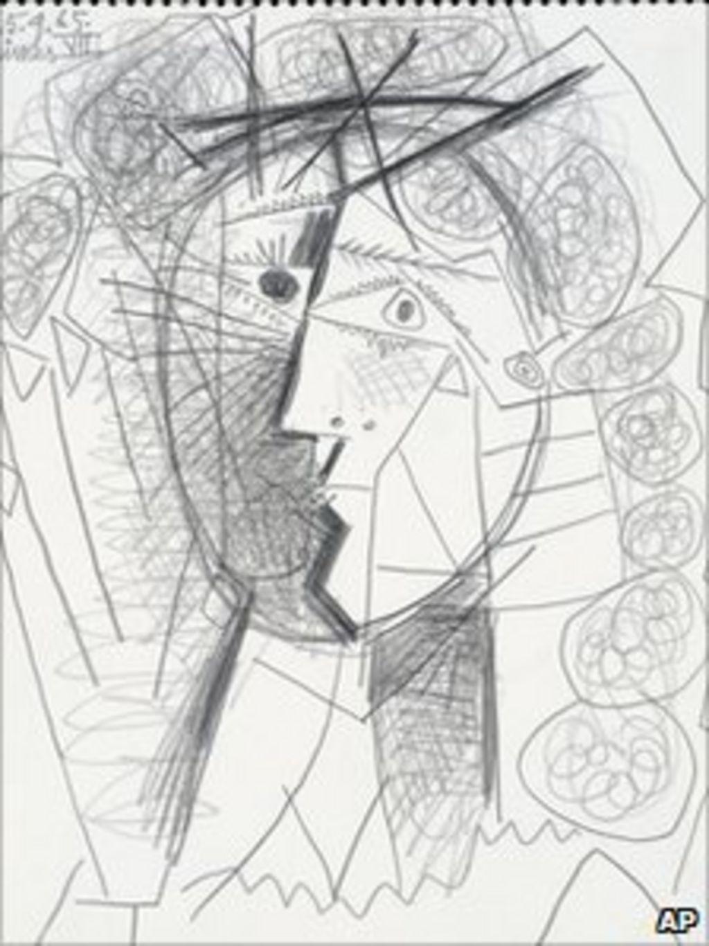 Picasso thief pleads guilty to theft of tete de femme bbc news