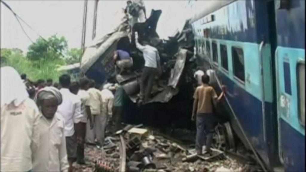 Train crash in Uttar Pradesh, 10 July