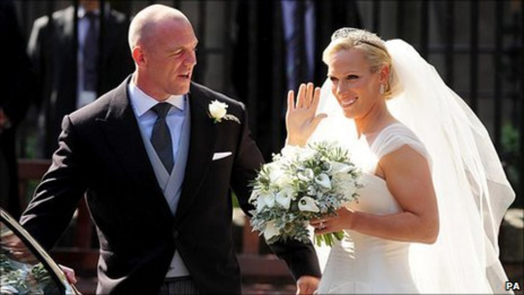 Zara Phillips wedding: Ceremony at Edinburgh church - BBC News