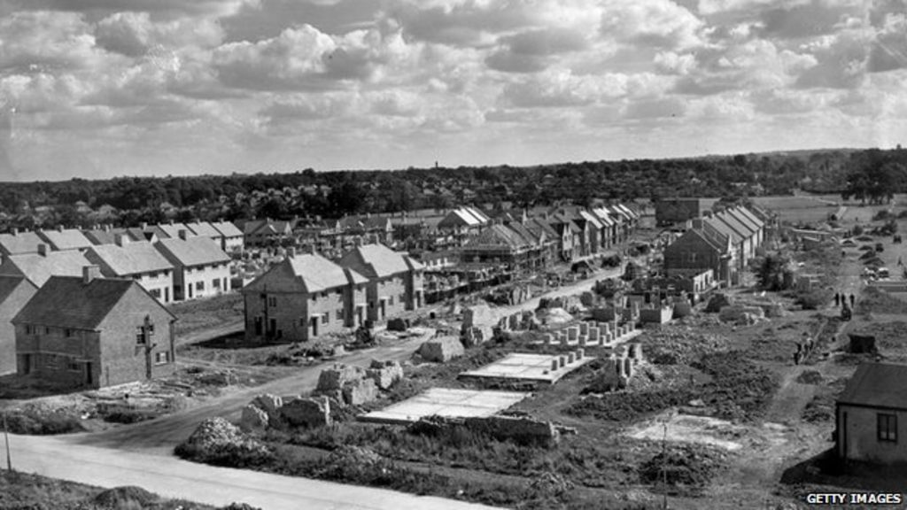 A history of social housing bbc news for Building an estate