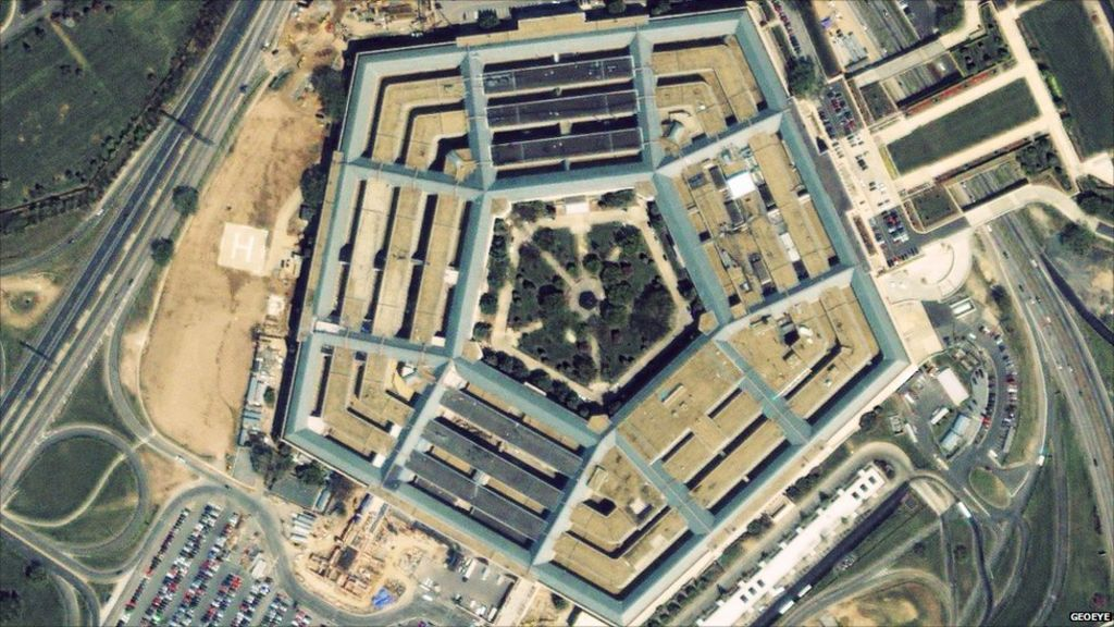 In Pictures Pentagon Before And After 9 11