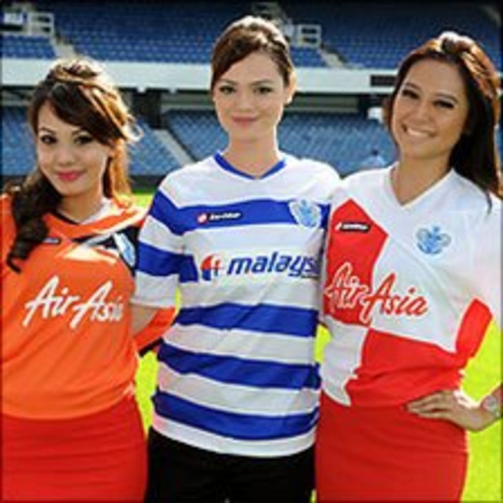 watch 15253 31614 QPR sign sponsorship deal with two Asian airlines - BBC News