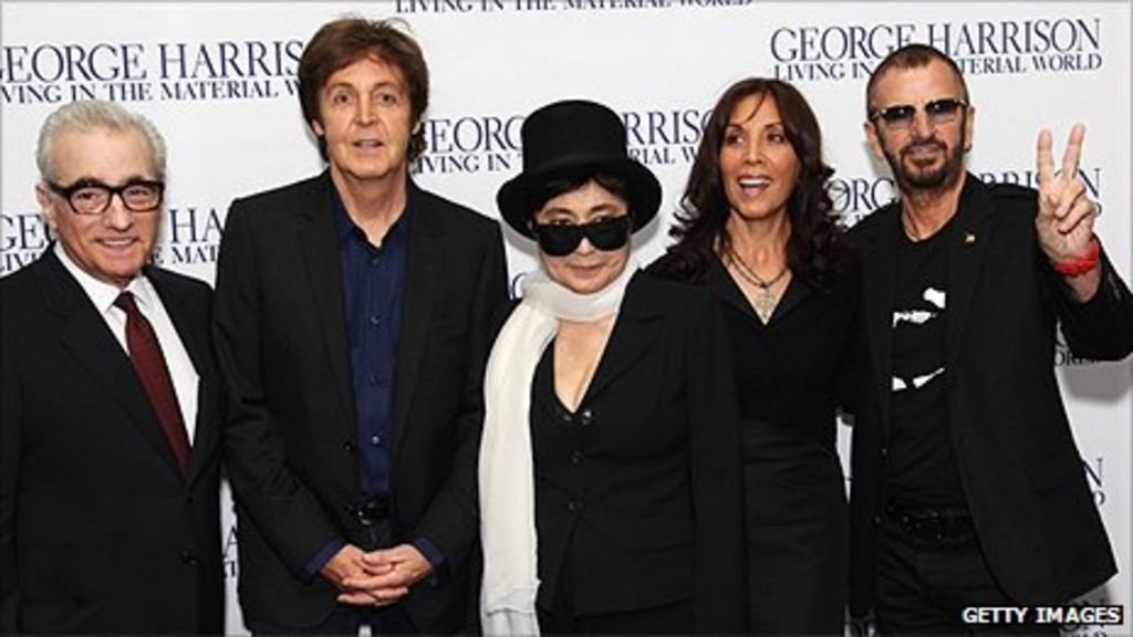Surviving Beatles Attend George Harrison Film Premiere