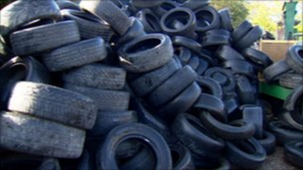 Stormont inquiry into used tyre disposal begins - BBC News