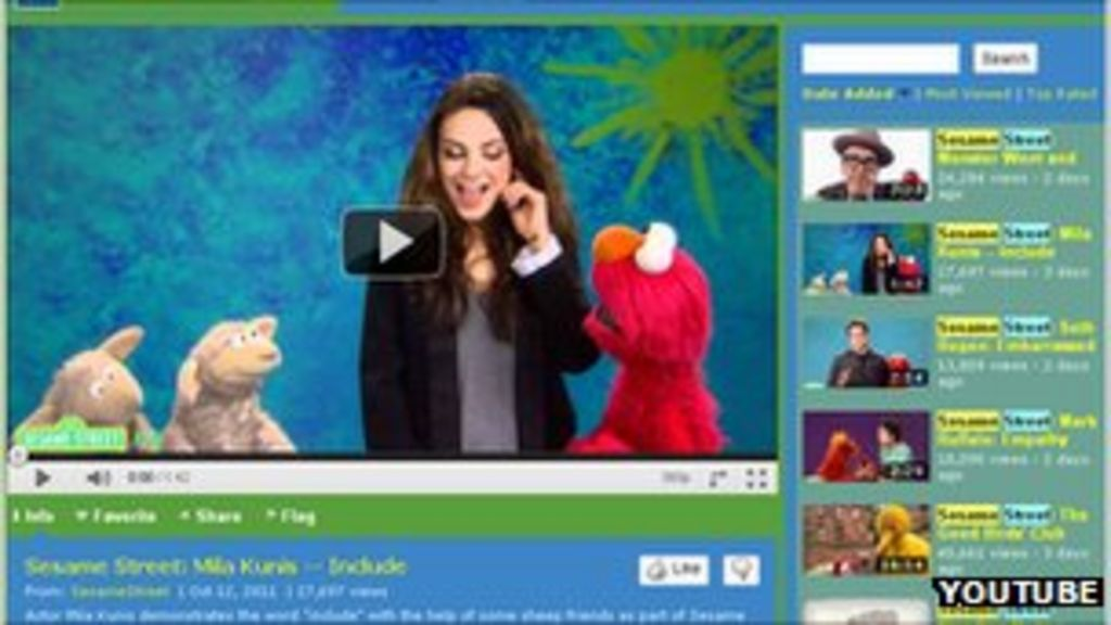 Sesame Street Youtube Channel Hit By Porn Hack - Bbc News-7425