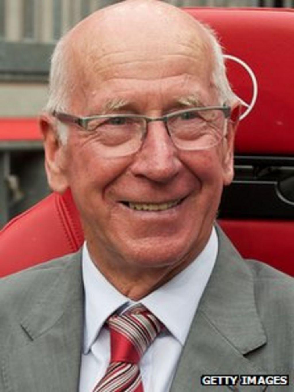 Sir Bobby Charlton launches landmine research charity ...  Sir Bobby Charl...