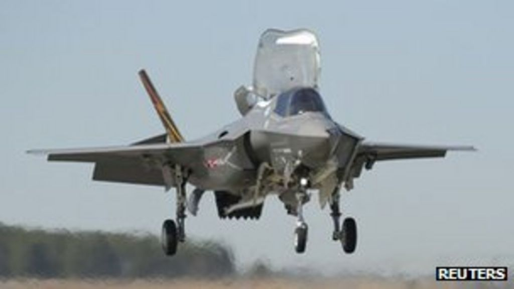 US Lockheed Martin F-35 chosen as Japan fighter jet - BBC News