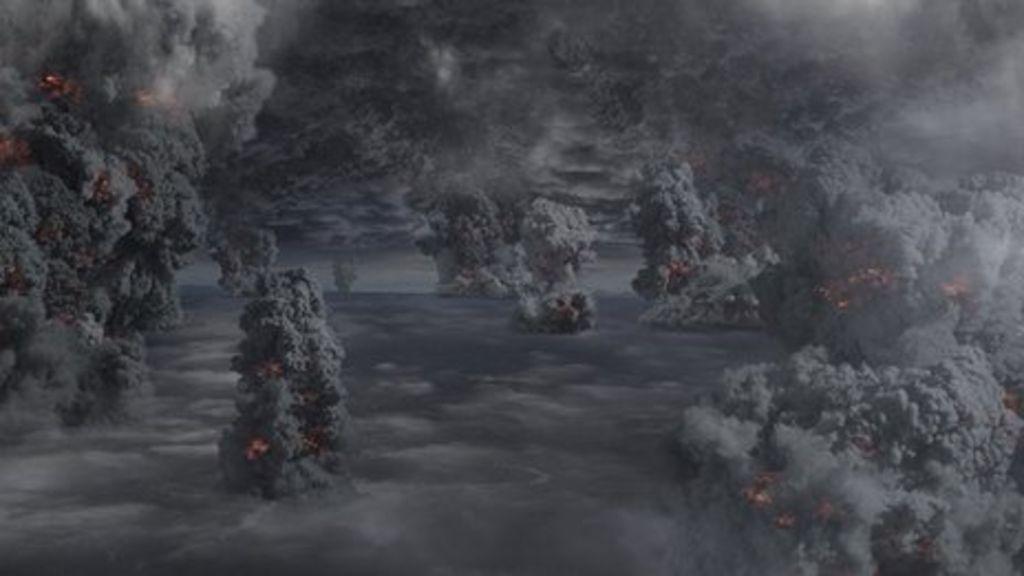 Mega Volcanoes May Be Predicted Bbc News