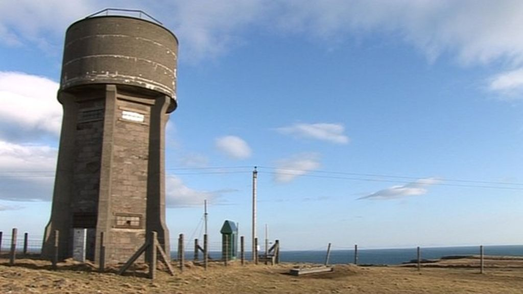 disused water tower on lewis offered for sale