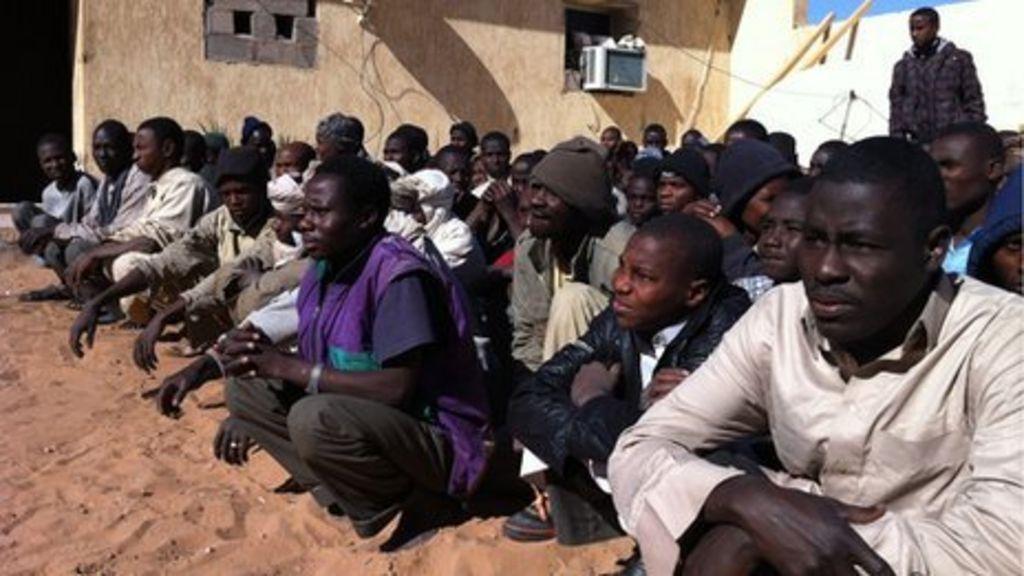 Негры смешались с арабами в африке