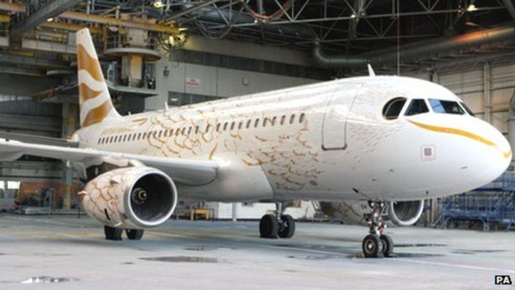 London 2012: British Airways Olympics dove plane unveiled