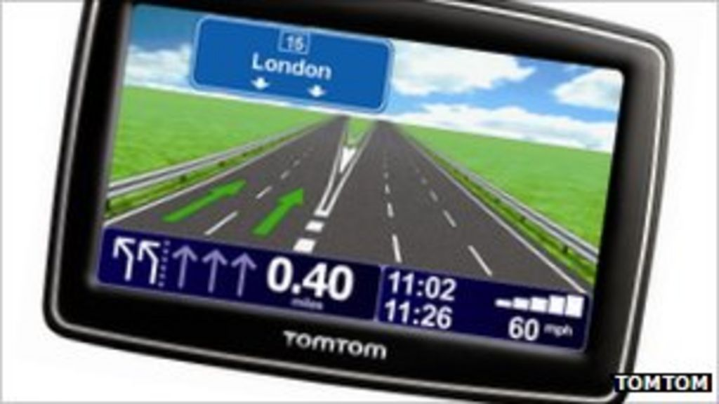 TomTom issues software 'fix' for sat-nav bug - BBC News