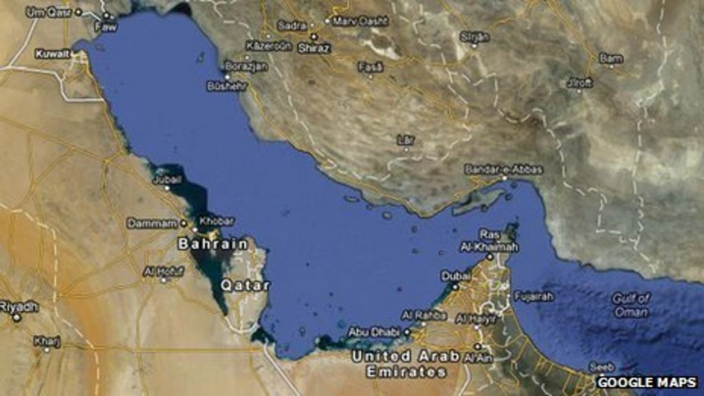 Iran to sue google for not labelling gulf on world map bbc news gumiabroncs Choice Image