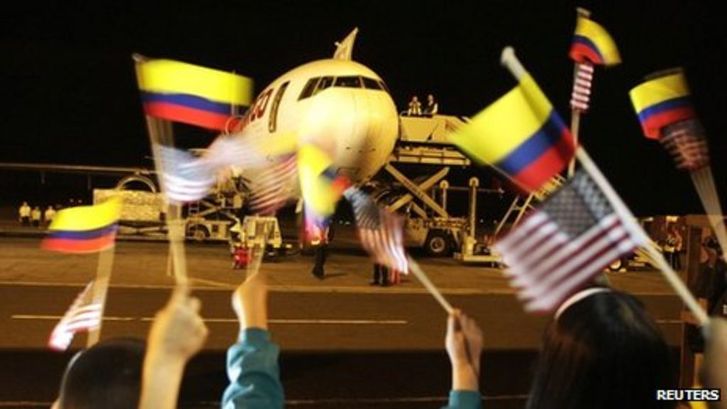 Colombia Us Free Trade Agreement Comes Into Force Bbc News