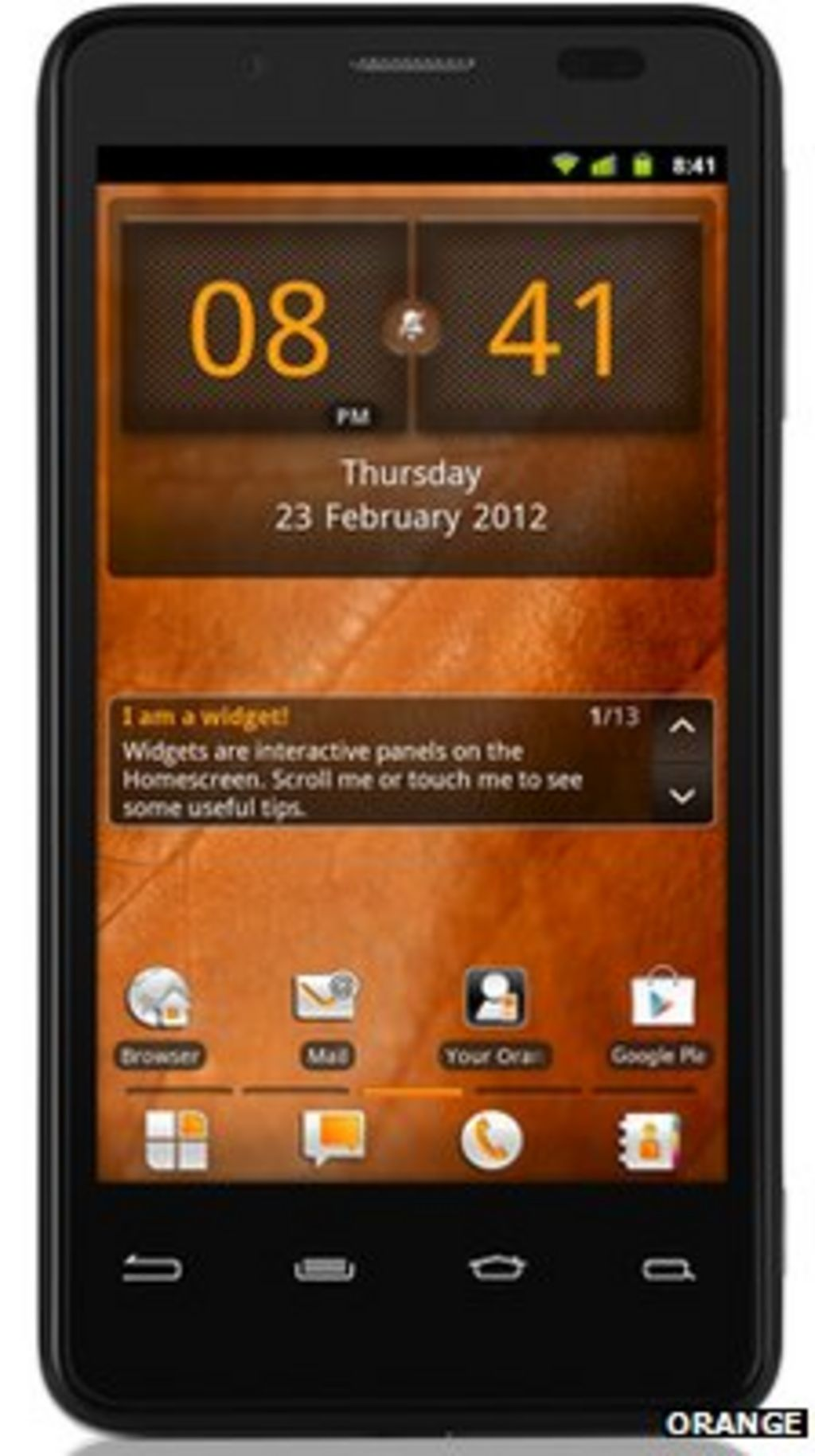 intel based smartphone unveiled by orange for uk and france bbc news. Black Bedroom Furniture Sets. Home Design Ideas