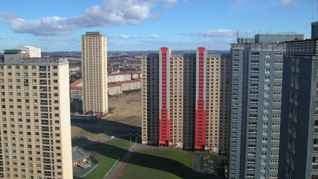 The end of Glasgow's Red Road housing estate - BBC News