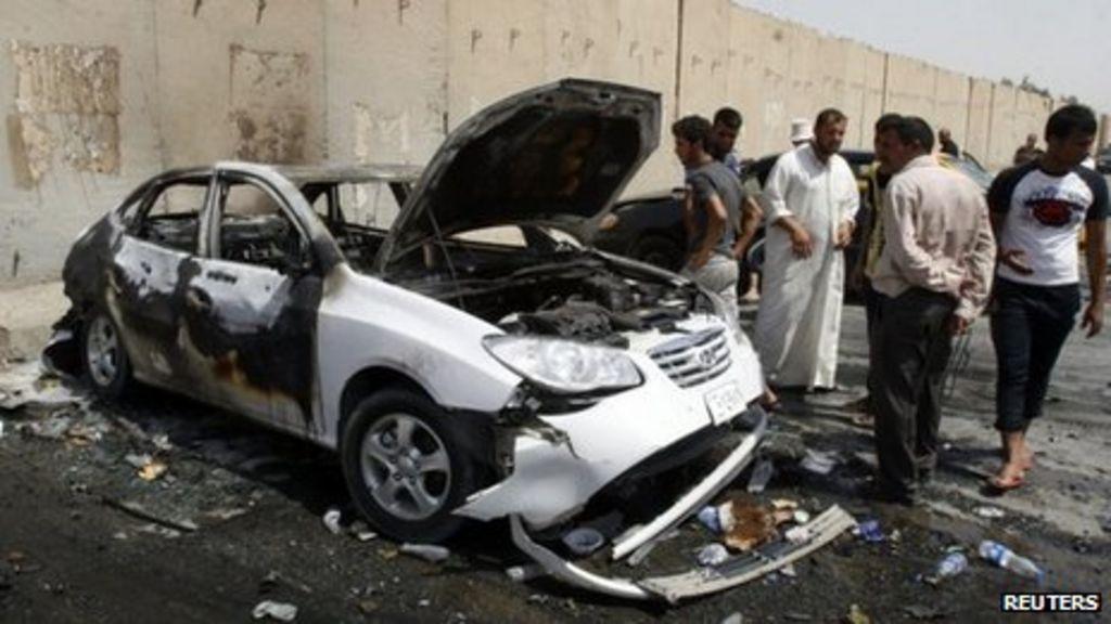 Baghdad car bombings target Shia