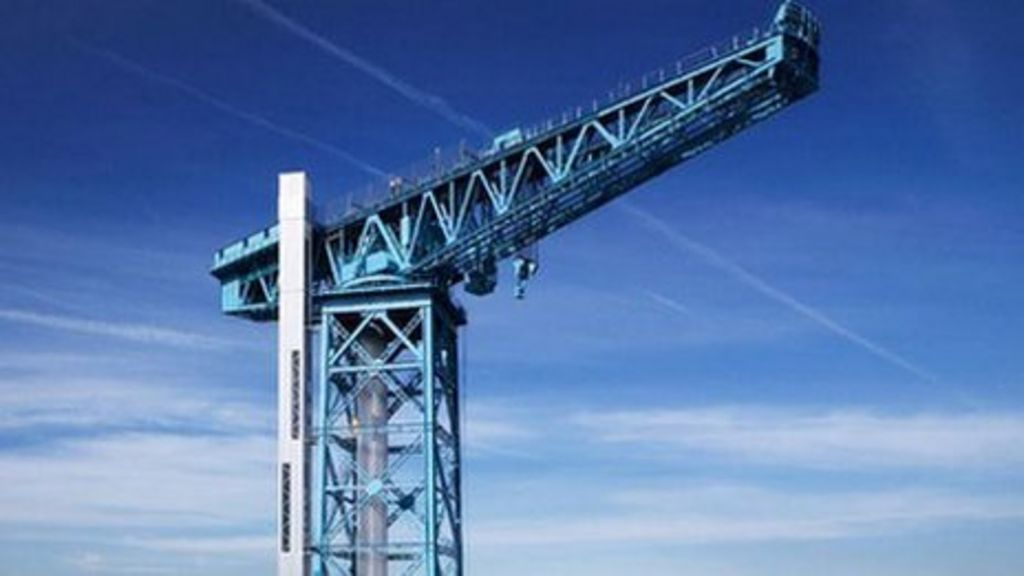 top engineering award for clydebank u0026 39 s titan crane