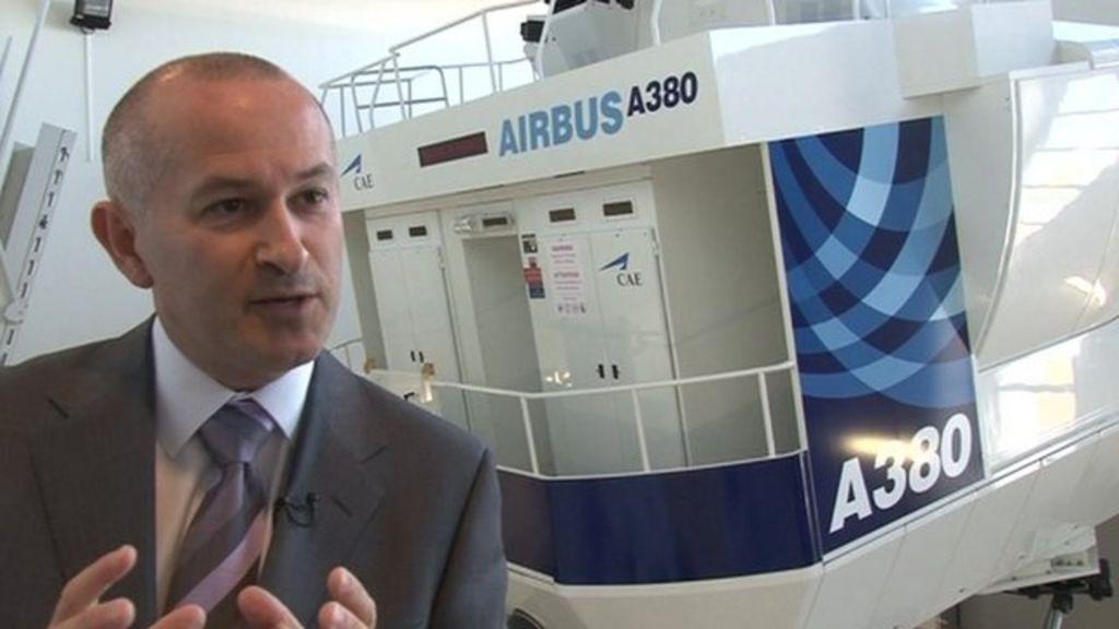 Flight simulator demand set to soar - BBC News
