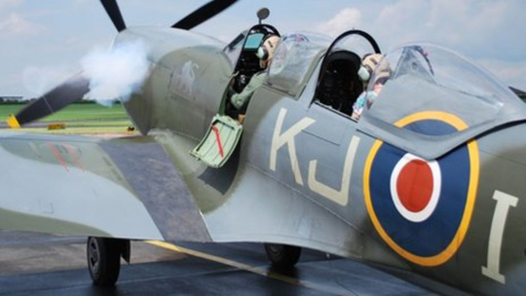 Spitfire grounded by weather - BBC News