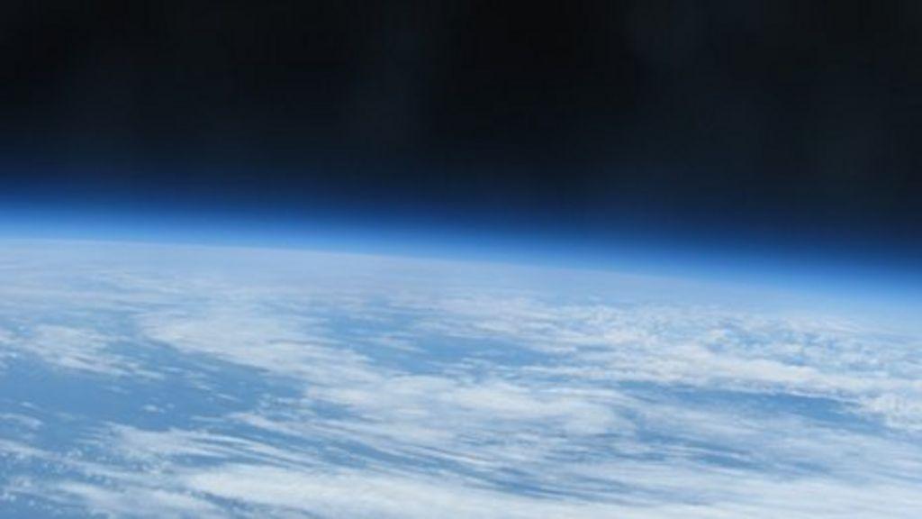 Tasker Milward School balloon reaches edge of space - BBC News