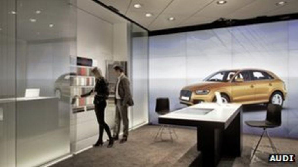 Audi Opens Digital Car Showroom Bbc News