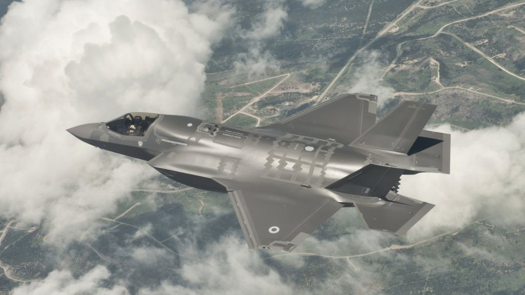 The F35 Lightning II Fighter Jet