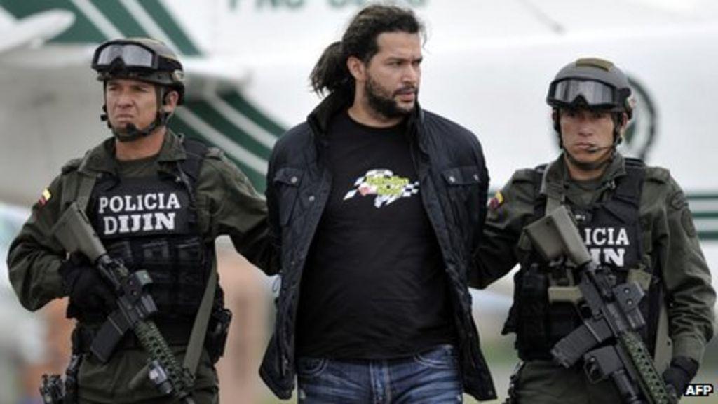 colombia drug lord 39 sebastian 39 arrested bbc news. Black Bedroom Furniture Sets. Home Design Ideas