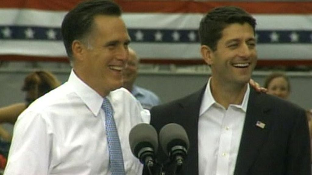 Romney names Ryan as running mate