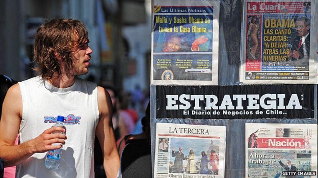 Chile profile - Media - BBC News