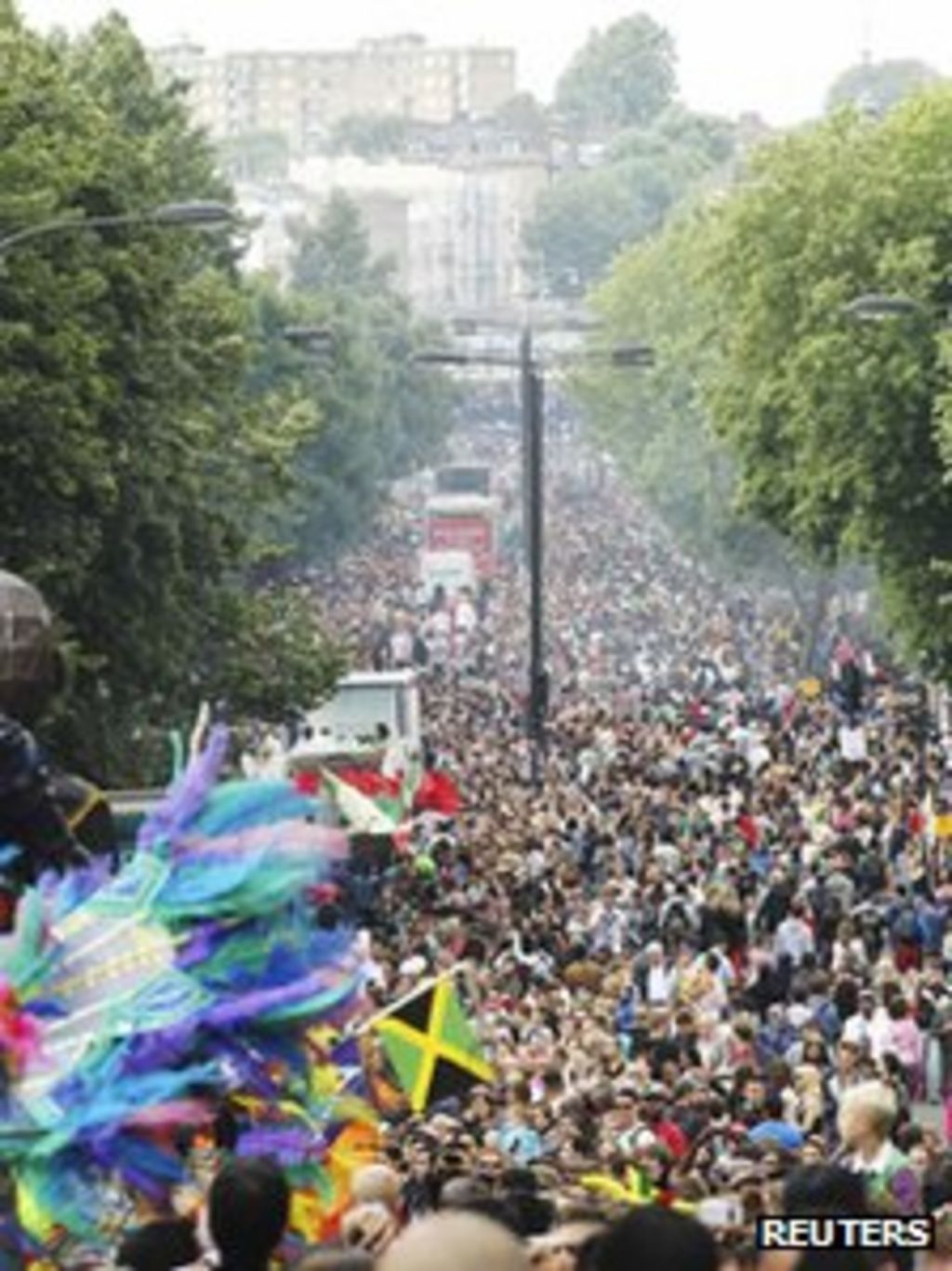 Notting Hill Ladbroke Grove notting hill carnival police make 299 arrests - bbc news