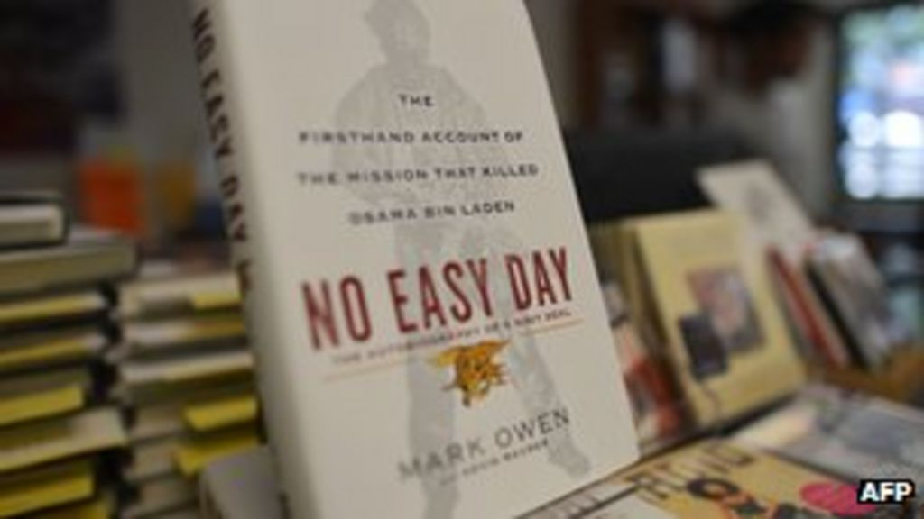 Navy Seal gives interview on Bin Laden book No Easy Day