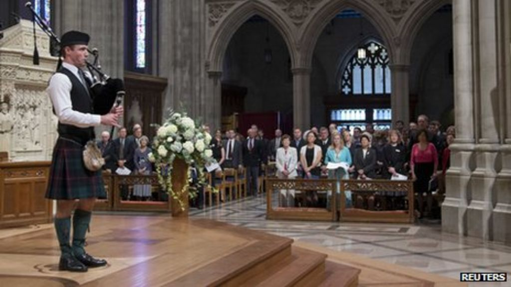Neil Armstrong Family Memorial Service (201208310010HQ ... |Neil Armstrong Funeral Service