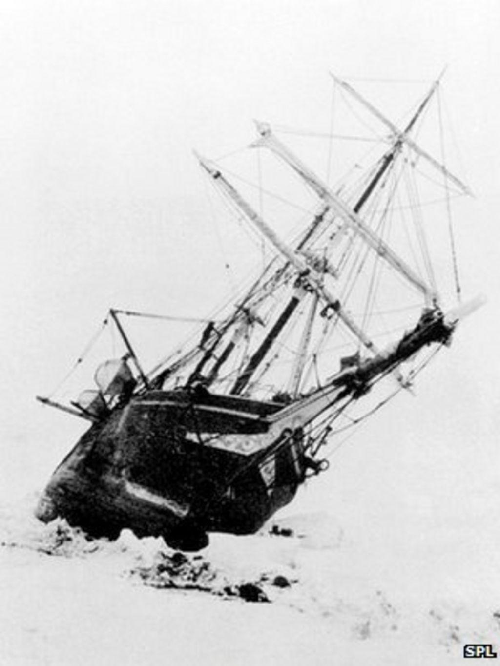 shackletons lost ship endurance - 673×900