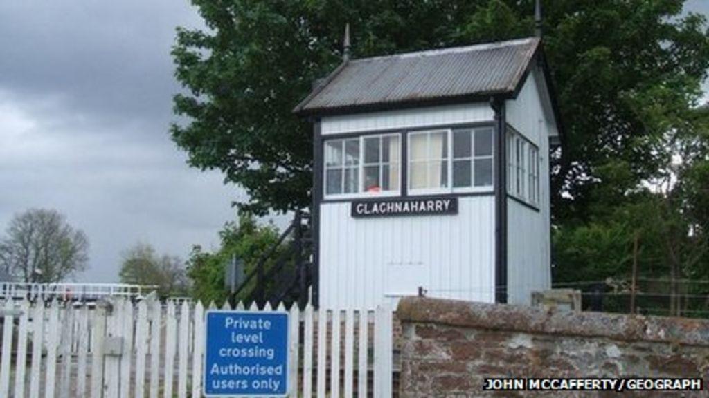 Clachnaharry signal box. Pic: John McCafferty