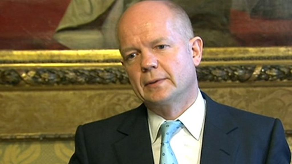 Syria conflict: Opposition leaders 'credible' says Hague ...