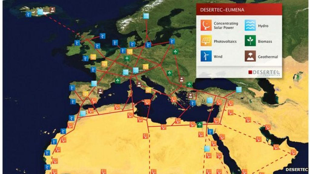 deserts in europe map Solar Storm As Desert Plan To Power Europe Falters Bbc News deserts in europe map