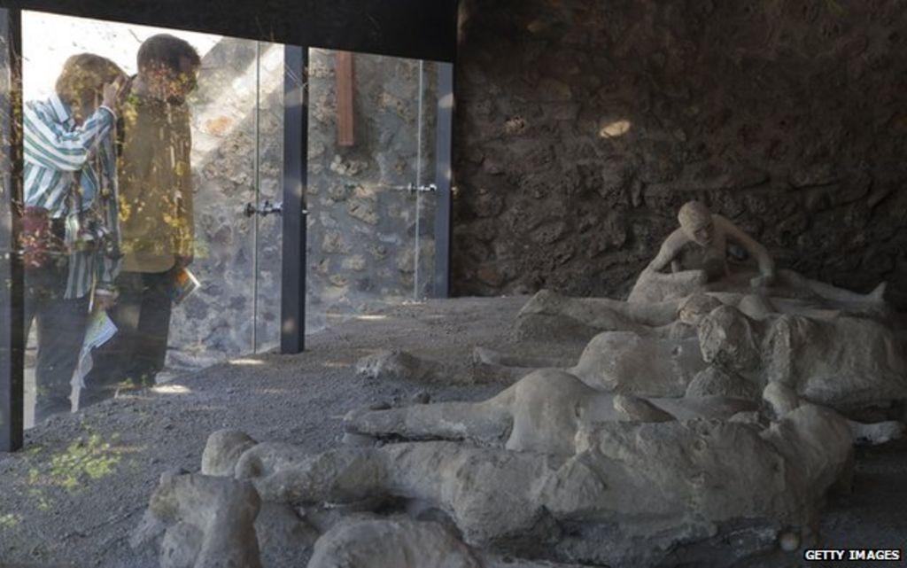 Pompeii Tour Can You See Bodies