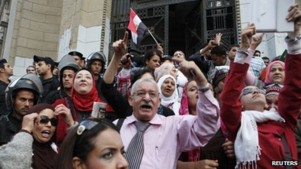 Egypt rights groups and ElBaradei denounce Mursi decree ...