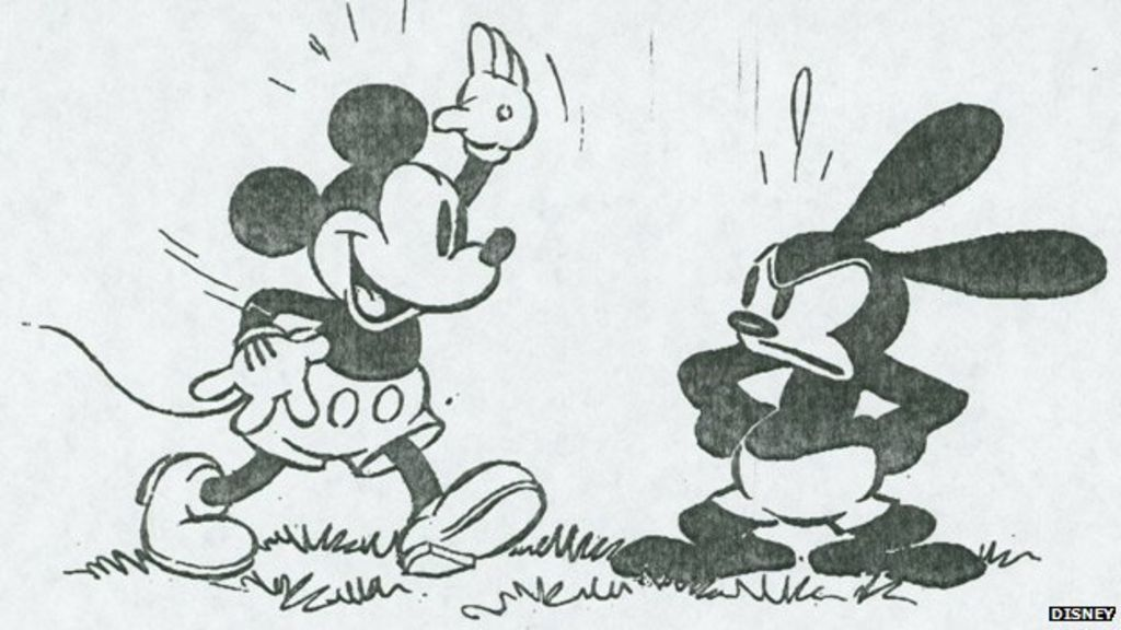 Could Oswald the Lucky Rabbit have been bigger than Mickey