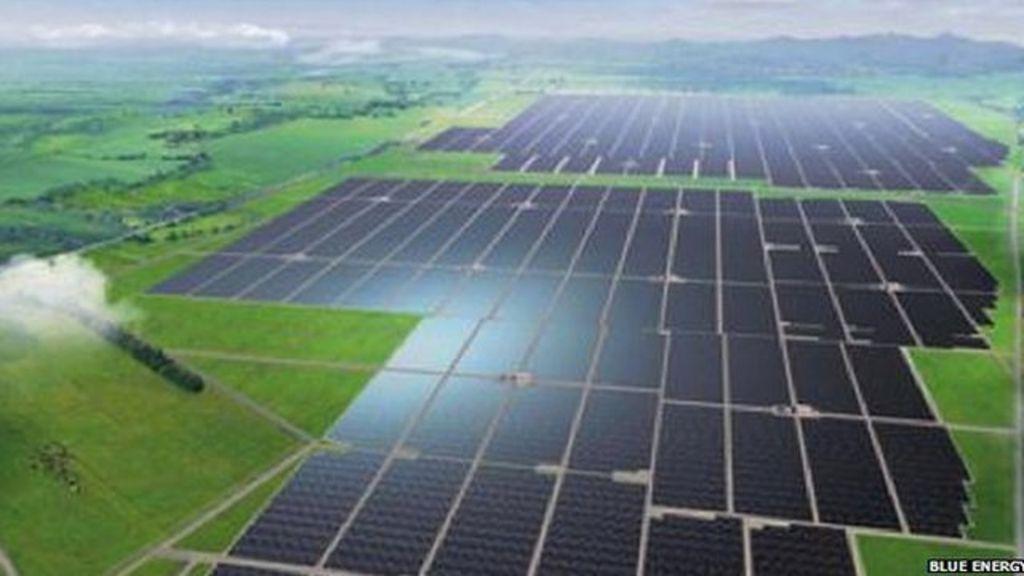 Uk Company To Build A Solar Power Plant In Ghana Bbc News