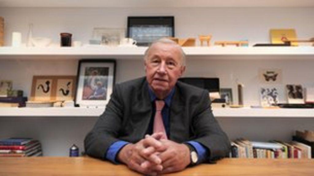 Prince Charles Honours Sir Terence Conran With Arts Medal Bbc News